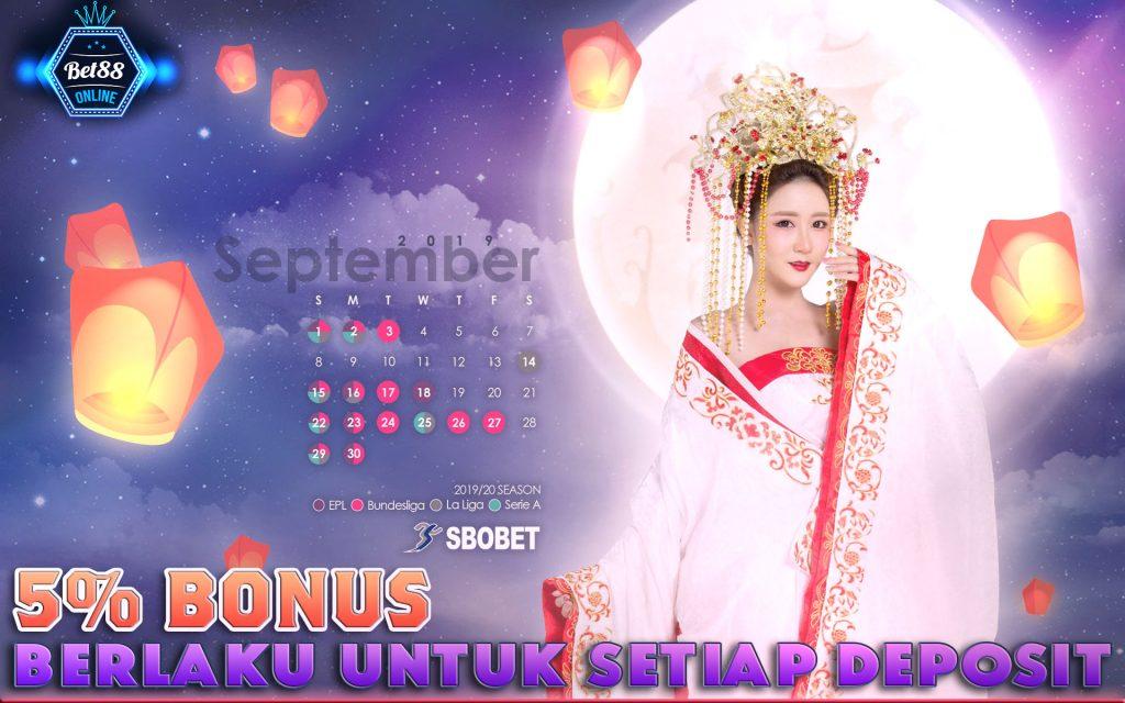 Bet88 Score Calendar Sept 2019
