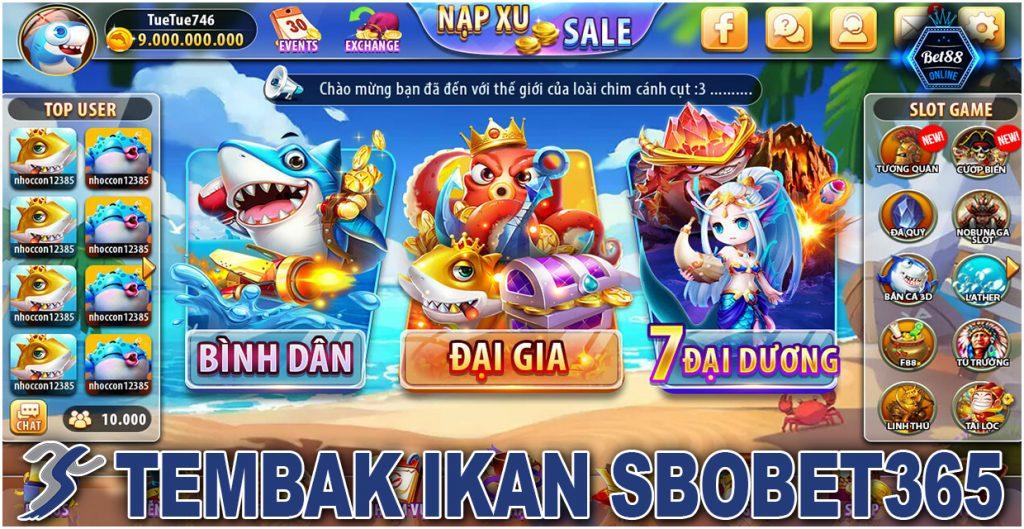 Tembak Ikan Sbobet365